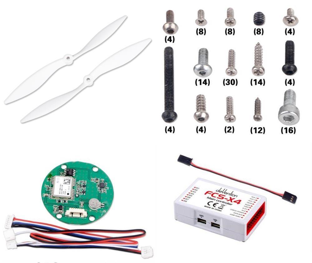 Walkera QR X350 PRO Main Control Board GPS-05 Module Screw Set Propellers S157