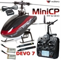 Picture of Walkera Mini CP RTF Helicopter W/ Devo 7 Transmitter