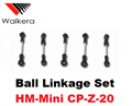 Picture of Walkera Mini CP Ball Linkage Set HM-Mini CP-Z-20