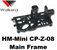 Picture of Walkera Super CP Main Frame HM-Mini CP-Z-08