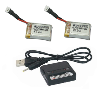 Picture of Walkera 240mah Batteries & Charger Combo