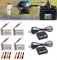 Picture of FPV QR LadyBird V2 RTF w/ Devo F4 Transmitter/Receiver UFO QuadCopter Combo