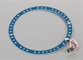 Picture of LED Ring 145mm Blue w/10 Selectable Modes
