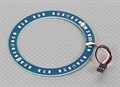 Picture of LED Ring 100mm Red w/10 Selectable Modes