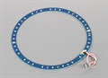 Picture of LED Ring 165mm Blue w/ 10 Selectable Modes