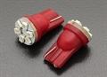 Picture of Red LED Corn Light 12V 0.9W (6 LED) (2pcs)