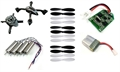 Picture of Hubsan X4 H107 BNF Complete Build Yourself 2.4ghz COMBO Mini UFO