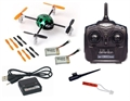 Picture of Walkera QR Ladybird V2 RTF w Devo 4 Transmitter Mini Quadcopter Green