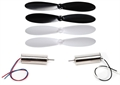 Picture of Hubsan X4 H107D 2 Motors Clockwise Counter-Clockwise & Propeller blades 8 x 20mm