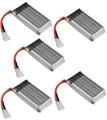 Picture of Hubsan X4 H107D Batteries 3.7v 380mAh 25c LiPo FPV 5X Battery