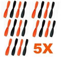 Picture of Walkera QR W100 Propeller Blades Combo Set 5 x Main Blades Sets