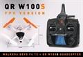 Picture of Walkera QR W100S 5.8Ghz FPV Quadcopter Drone RTF w/ Devo F4 LCD Radio