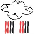 Picture of Estes Dart Quadcopter Protection Cover Guard / Propeller Rotor Blade Combo