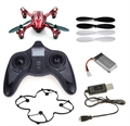 Picture of Hubsan X4 H107C Camera Quadcopter RTF (Red with Silver Stripes)