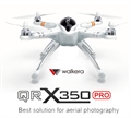 Picture of Walkera QR X350 PRO BNF NO Radio Remote Control TX, Receiver RX, Battery, Charger, Gimbal, or Camera