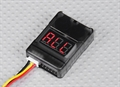 Picture of Heli-Max 1SQ LiPo Battery Low Voltage Alarm Buzzer Tester Checker 1S-8S