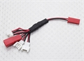 Picture of Traxxas QR-1 Multi-Plug Charge Lead for Micro Model Batteries
