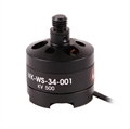 Picture of Walkera TALI H500 Black Brushless Motor TALI H500-Z-11 Levogyrate Thread WK-WS-34-001 for Hexacopter
