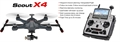 Picture of Walkera Scout X4 GPS FPV Quadcopter Drone - Way-points - Bluetooth Ground Station - HD Camera and Devo F12E