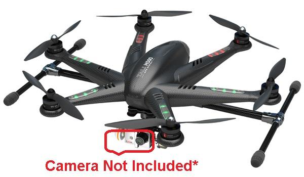 Walkera TALI H500-Z-22 22.2V 5400mAh Lithium Battery for R/C Hexacopter - White