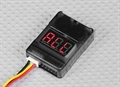 Picture of Ribeisi Toys GWT-X5C Star Aircraft LiPo Battery Low Voltage Alarm Buzzer Tester Checker 1S-8S