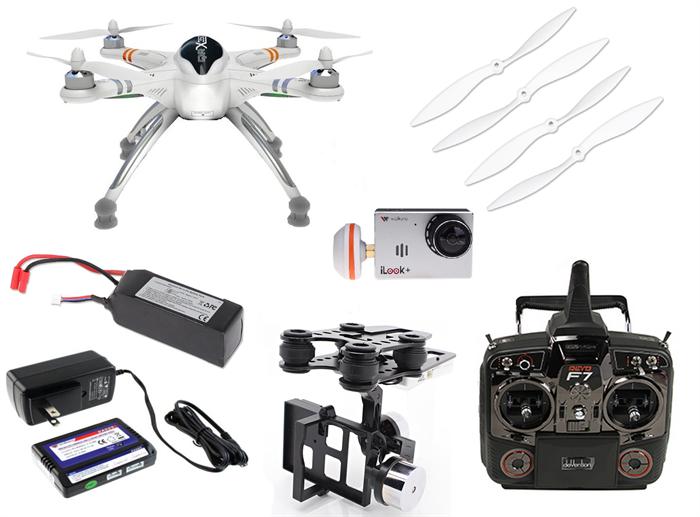 walkera qr x350 pro fpv drone rtf w devo f7 radio g 2d. Black Bedroom Furniture Sets. Home Design Ideas