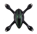 Picture of Hubsan X4 H107C Body Shell Frame H107-A22 Black with Green Stripes