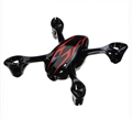 Picture of Hubsan X4 H107C Body Shell Frame H107-A26 Black with Red Stripes