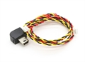 Picture of GoPro Hero 4, 3+ or 3 FPV AV Connector 4 pin mini Molex / Charging Cable 3 pin Mini Molex