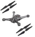 Picture of Walkera Scout X4 Carbon Black Body Set Propeller Blades Quadcopter Drone Combo