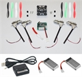 Picture of Walkera Devo Compatible V2 BNF CLOWN RACER 32MPH 3.7v LiPo Complete Mini Quadcopter EASY BUILD Kit 32MPH! 2.4Ghz Easy to Fly, Upgrade, Repair! Flips & Rolls (No Canopy) 5 Channels