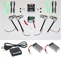 Picture of Walkera Devo Compatible V2 BNF Black & Green 32MPH Mini Quadcopter EASY BUILD Kit 2.4Ghz Easy to Fly, Upgrade, Repair! Flips & Rolls (No Canopy) 5 Channels