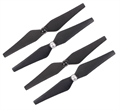 Picture of Walkera Scout X4 Lower (Conversion) Black Propeller Blades Scout X4(SJ)-Z-01 Self Tightening Props (4X)