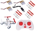 Picture of Hubsan Q4 Nano H111 Quadcopter RTF Combo 3x Batteries & 3x Propellers