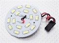Picture of White 16 LED Circular Light Board with Lead