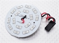 Picture of Blue 16 LED Circular Light Board with Lead