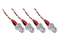 Picture of DBPower RC Quadcopter Drone 3.7v Red LED Lights Set Night Flying Quadctoper Lights