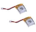 Picture of 2 x Quantity of Micro RC TP25S Quadcopter Li-Po Battery Power Pack 3.7v 100mAh