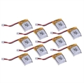 Picture of 10 x Quantity of Micro RC TP25S Quadcopter Li-Po Battery Power Pack 3.7v 100mAh