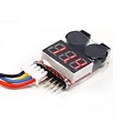 Picture of Li-Po LiPo Low Voltage Cell Checker (2S~8S) Alarm Twin Alarms