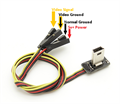 Picture of Super Slim GoPro Hero 3 A/V Cable & Power Lead For FPV