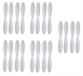 Picture of Ribeisi Toys GWT-X5C Star Aircraft  White on White Propeller Blades Props 5x Propellers