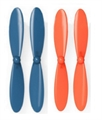 Picture of Heli-Max 1SQ Blue Orange Propeller Blades Propellers Props