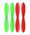 Picture of Extreme Fliers Micro Drone 2.0 Green Red Propeller Blades Propellers Props
