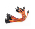 Picture of 10 x Quantity of Walkera E-Eyes GPS 10CM Male to Male Servo Lead (JR) 26AWG Wire Cable Connector